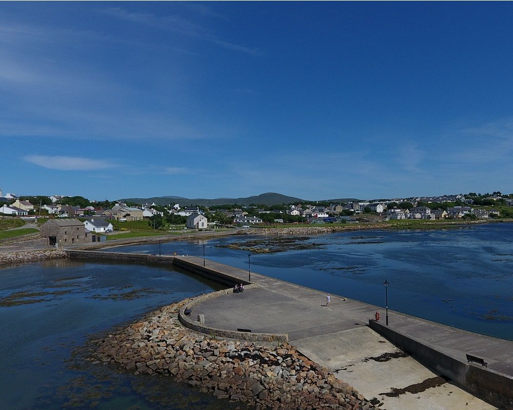 The stunning Dungloe Bay, located on the Wild Atlantic Way on the North West Coast of Donegal .
